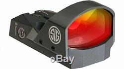 New Sig Sauer Romeo1 Reflex Pistol 3 MOA Red Dot Sight 1x30mm Black SOR11000
