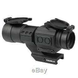 New Truglo Tru-Tec XS 2 MOA Red Dot Sight 30MM Scope WithCantilever Mount TG8135BN