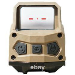Original Hartman 1x MH1 Reflex Sight with 2 MOA Red Dot Reticle Dual Lever, Tan