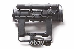 PK-01V. Red Dot Scope Collimator for Russian Side Rail 1 MOA. Original by BelOMO