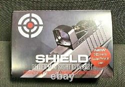 SHIELD SIGHTS RMSc-4MOA Reflex MiniSIGHT RED DOT Quartz Coated Polymer Lens