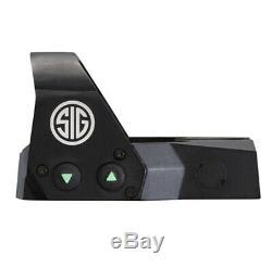 SIG SAUER Optics ROMEO1 3 MOA 1X30MM Reflex Red Dot Sight- SOR11000 Pistol Rifle