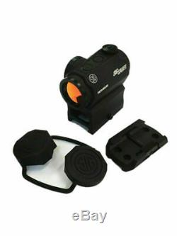 SIG SAUER ROMEO5 1x20mm Compact 2 MOA Red Dot Sight-SOR52001