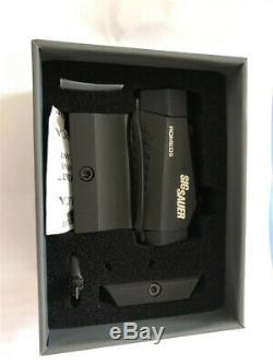 SIG SAUER ROMEO5 1x20mm Compact 2 MOA Red Dot Sight (SOR52001)