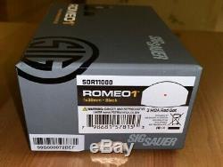 SIG SAUER Romeo1 Miniature Reflex 1x30mm 3 MOA Red Dot