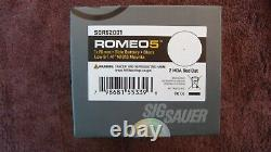SIG SAUER Romeo5 1x20MM 2 MOA Red Dot Sight SOR52001