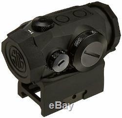 SIG SAUER SOR50000 Romeo5 1x20mm Compact 2 Moa Red Dot Sight MOTAC SHOCKPROOF