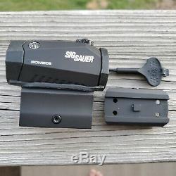 SIG SAUER SOR52001 Romeo5 1X20mm Red Dot Sight 2 MOA