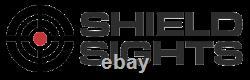 Shield Rms Reflex Mini Sight Glass Lens 8 Moa Large Red Dot Low Profile