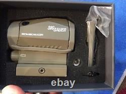 Sig Sauer OPMOD Romeo5 XDR 1x20mm Compact Red Dot Sight, 2 MOA Dot/65 MOA Circle