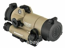Sig Sauer OPMOD Romeo7 Full Size Red Dot Sight, 1x30mm, 2 MOA Red SOR71021-KIT1