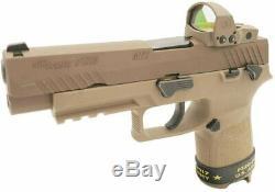 Sig Sauer Romeo1Pro 1x30mm Red Dot Sight, 6 MOA Dot Reticle, Aircraft SOR1P103