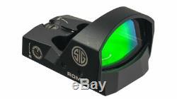 Sig Sauer Romeo1 6 MOA Red Dot Sight SOR11600 -Pistol, Rifle, Shotgun Sight