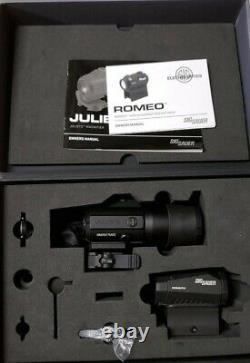 Sig Sauer Romeo5 & Juliet3 Combo, 2 MOA Red Dot Sight, 3x Magnifier SORJ53101