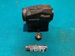 Sig Sauer Romeo5 XDR Compact Red Dot/Circle Dot Sight 1x20mm 2 MOA SOR52102