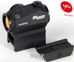 Sig Sauer Romeo 2 MOA Red Dot Sight with Mounts- SOR52001-new USA