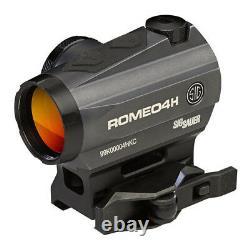 Sig Sauer Romeo 4 Red Dot Sight 1x20 2 MOA Circle Dot Torx SOR43011