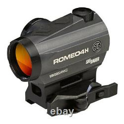 Sig Sauer Romeo 4 Red Dot Sight 1x20 2 MOA Circle Plex Torx SOR43012