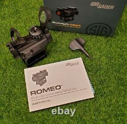 Sig Sauer Romeo-MSR Red Dot Sight 2 MOA with Riser SOR72001