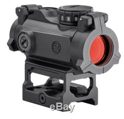 Sig Sauer Romeo MSR Red Dot Sight 2 MOA with Riser SOR72001
