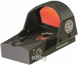 Sig Sauer Romeo Reflex Sight 1x30mm 3 MOA Red Dot Black