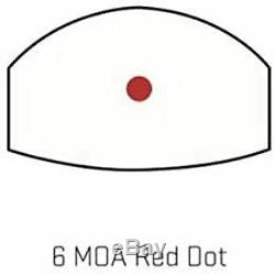 Sig Sauer SOR01600 Romeo Zero Reflex Sight, 6 MOA Red Dot, Black