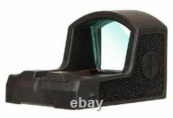 Sig Sauer SOR01600 Romeo Zero Reflex Sight, 6 MOA Red Dot, Open Box