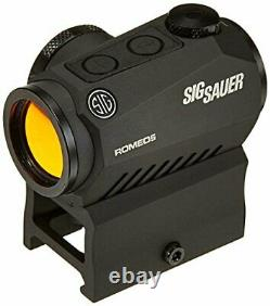 Sig Sauer SOR52001, Romeo 5 1x20mm 2 MOA Red Dot Sight with Mounts