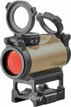 Sig Sauer SOR72011 Romeo-MSR 1x20mm 2 MOA Compact Red Dot Sight FDE