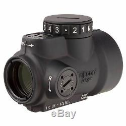 Trijicon MRO 1x25mm Adjustable Red Dot Sight, 2MOA Dot Reticle, Black 2200003