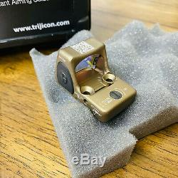 Trijicon RMR HRS Type 2 Red Dot Sight RM06-C-700780 3.25 MOA Red Dot Brown BNIB