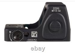 Trijicon RMR Type-2 3.25 MOA Adjustable LED Red Dot Sight, Black RM06-C-700672