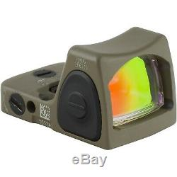 Trijicon RMR Type 2 RM06 3.25 MOA Adjustable LED Red Dot Sight, FDE 700696