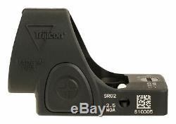 Trijicon SRO Adjustable LED Red Dot Sight, 1.0 MOA Dot Reticle, 2500001