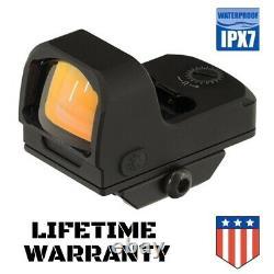 UTG OP3 Reflex Micro Red Dot 4 MOA Adaptive Base Waterproof LIFETIME WARRANTY
