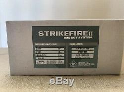 Vortex Optics Strikefire II Red Dot Sight 4 MOA Red/Green Dot SF-RG-501