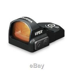 Vortex Optics VRD-6 Viper Miniature Red Dot 6 MOA RMR Sight with Picatinny Mount