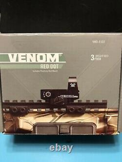 Vortex Venom Red Dot Sight 3 MOA Dot VMD-3103 Excellent Shape