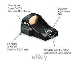 Vortex Viper Red Dot 6 MOA Sight for Handgun, Rifle, AR, Pistol, Shotgun VRD-6